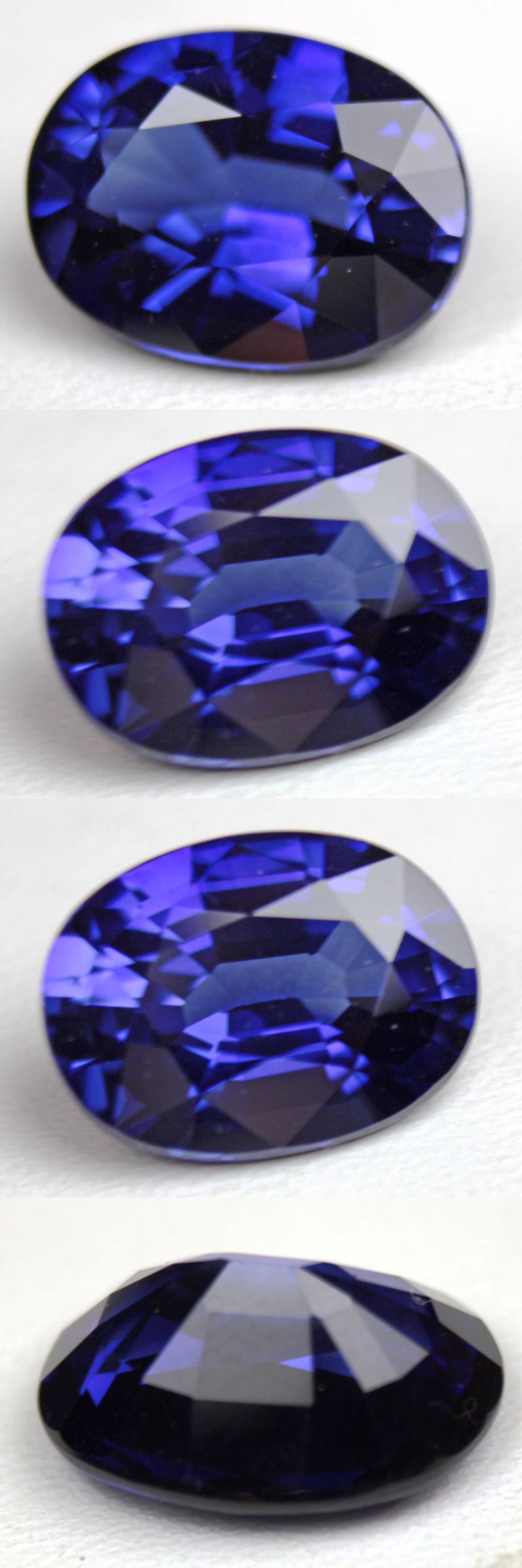 blue sapphire princess gemstones topaz dark abb view front london carat ct oval