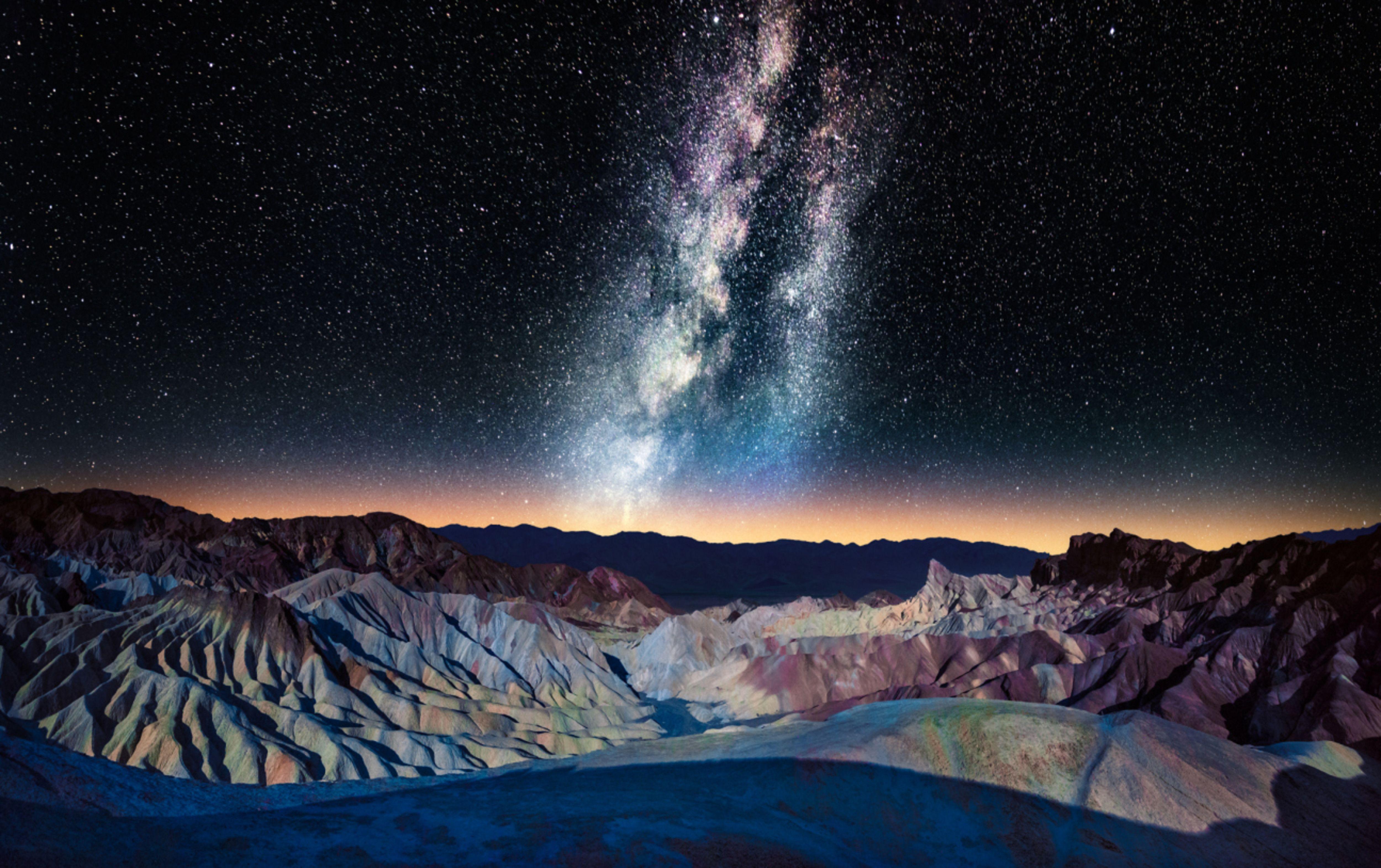 California: Zabriskie Point, Death Valley National Park- Matt Anderson/Getty Images