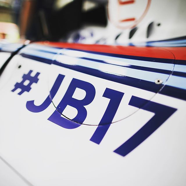 """""""A talent lost far too young #JB17 #neverforget"""" Photo taken by @williamsmartiniracing on Instagram, pinned via the InstaPin iOS App! http://www.instapinapp.com (07/24/2015)"""