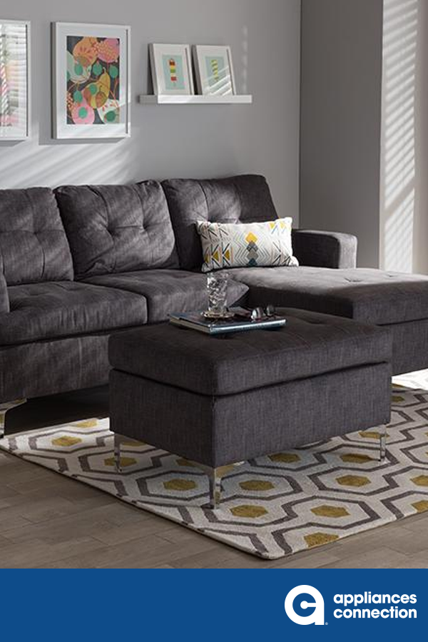 The Riley 3-piece sofa sectional with ottoman set will ... on Riley 3 Piece Sectional Charleston id=34958