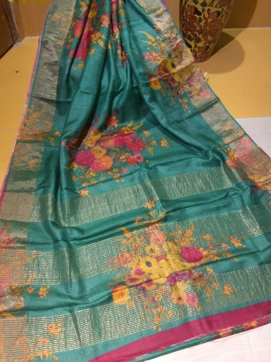 85607b2bb7 New Gachi Tussar Silk Sarees at Maneeti ! For booking and inquiryvisit us  at www.facebook.com/maneeti or whatsapp on 9539820656 #gachitussar #sarees  ...