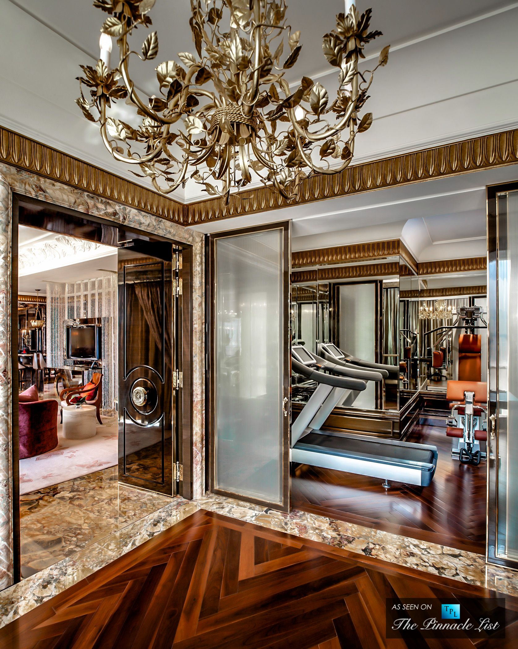 St Regis Luxury Hotel  Singapore  Preisident Suite Gym