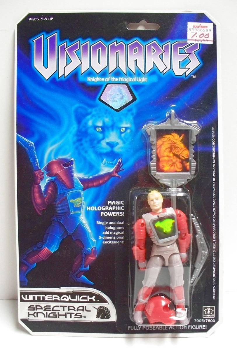 A Visionaries figure in original 80s packaging