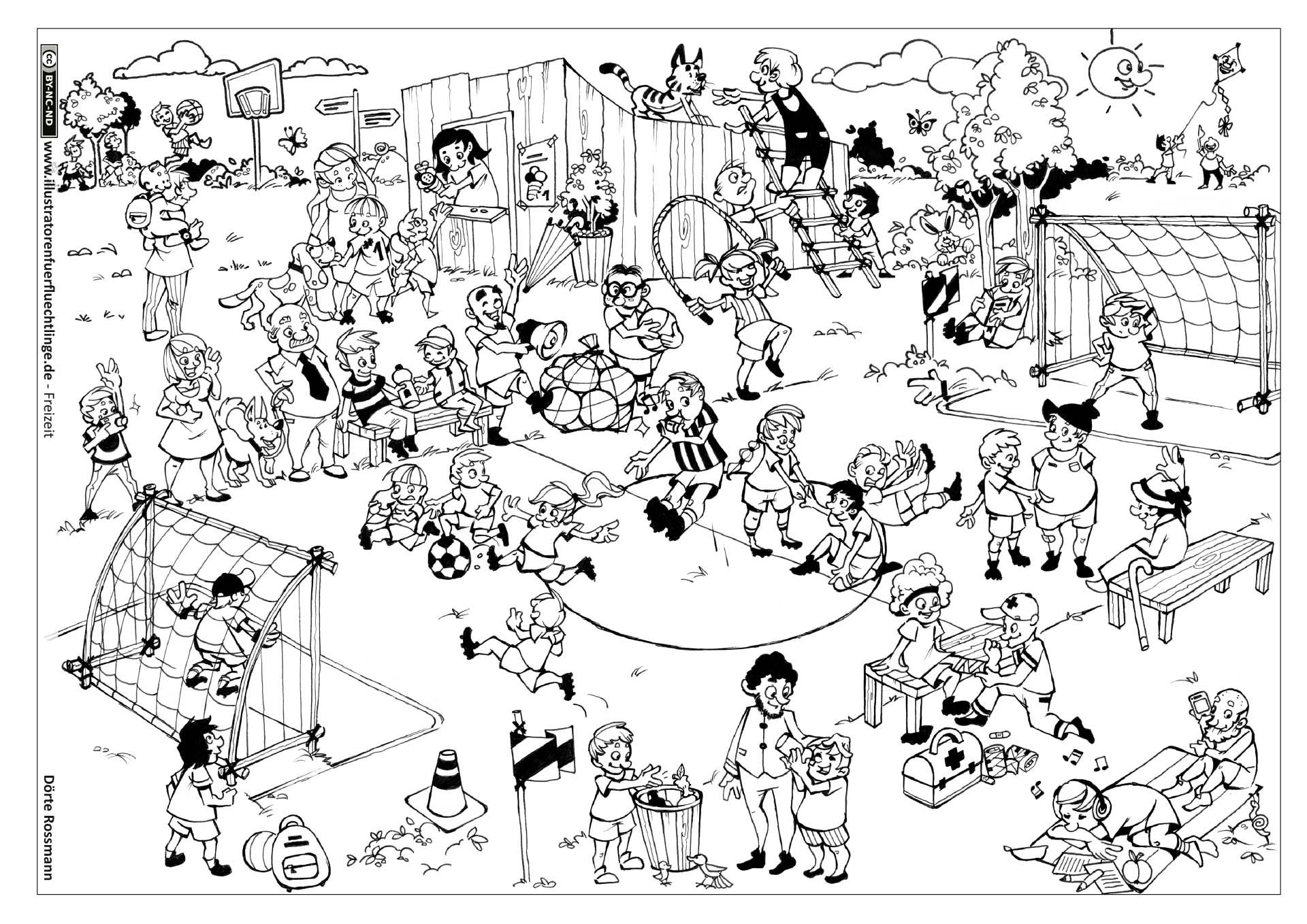 Download Als Pdf Freizeit Fussball Fussballspiel Rossmann Ausmalbilder Malvorlagen Tiere Bauernhof Malvorlagen