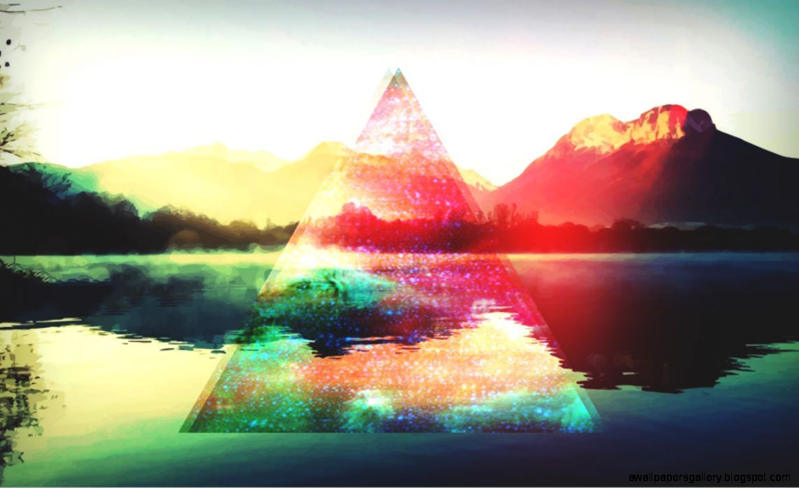 Hipster Triangle Wallpaper Tumblr