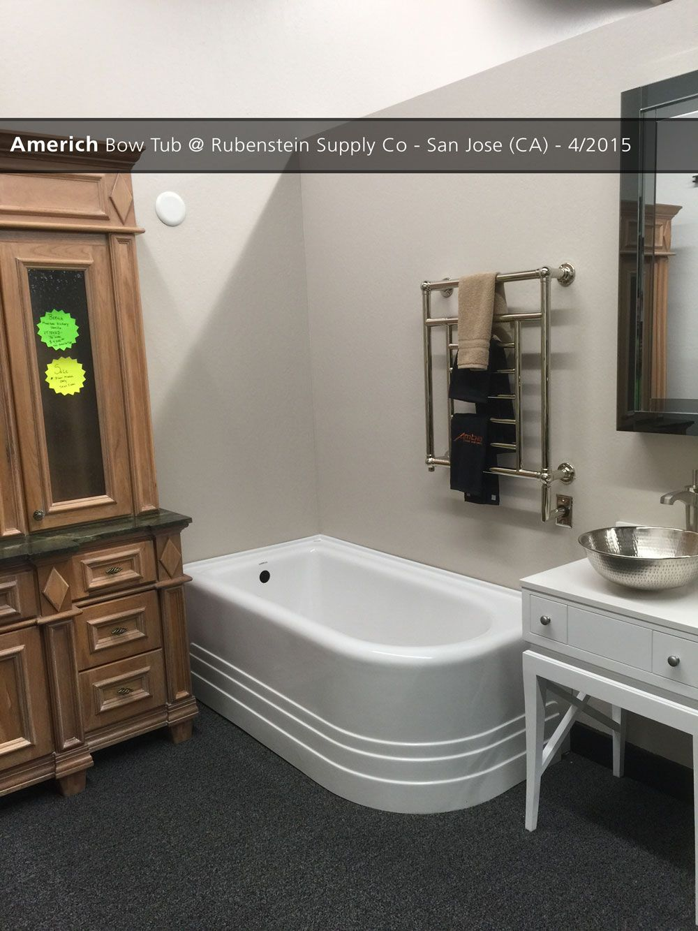Americh Bow Tub @ Rubenstein Supply Co - San Jose (CA) - 4