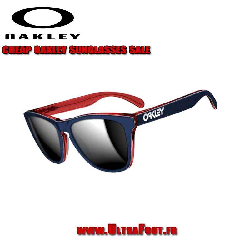 Oakley Frogskins LX Navy   Chrome Iridium Objectifs OO2043-05 28b900a3e4c0