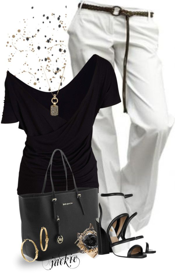 """""""Love of Black and White"""" by jackie22 on Polyvore"""