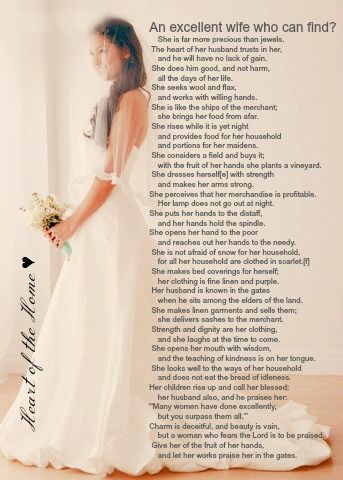 Preparing To Be A Godly Wife