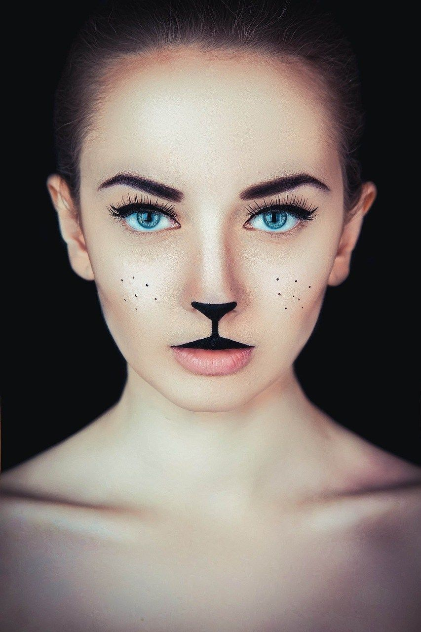 Deer makeup gorgeous halloween makeup looks cheetah makeup