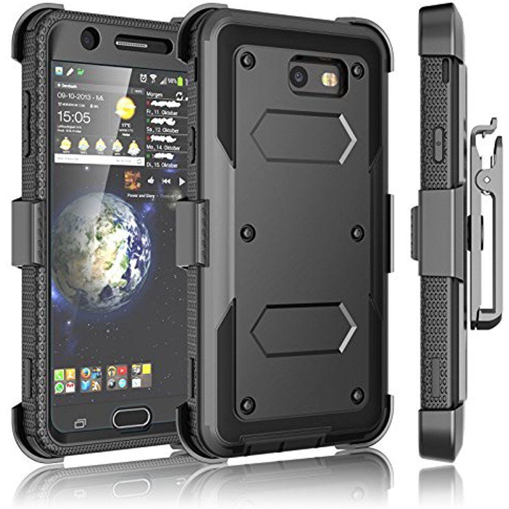 Galaxy J7 Sky Pro Case, V/J7 Prime/J7 Perx Holster Clip