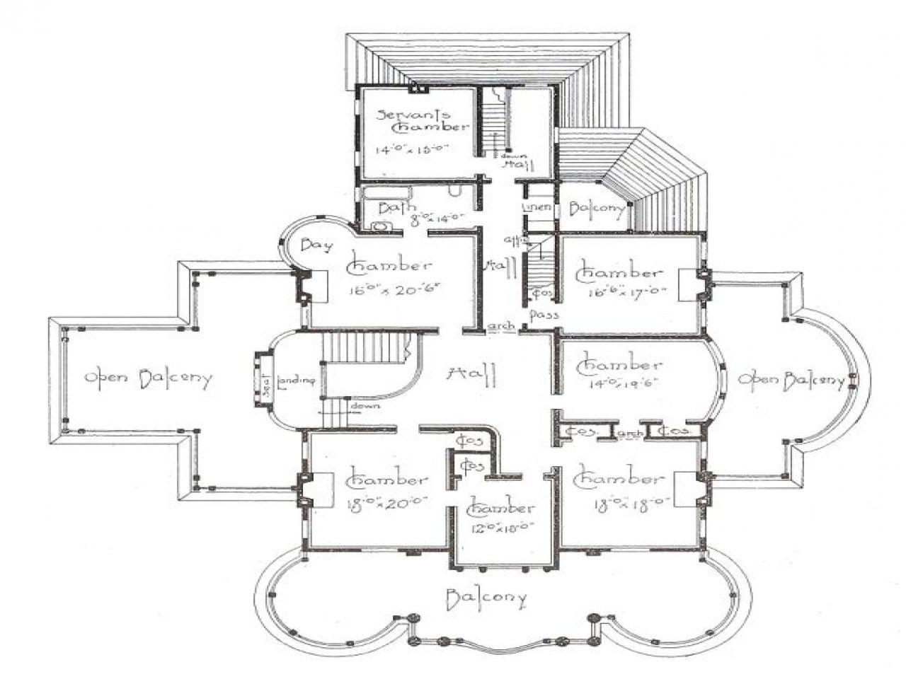 George barber house plans | Floor Plans | Pinterest | House