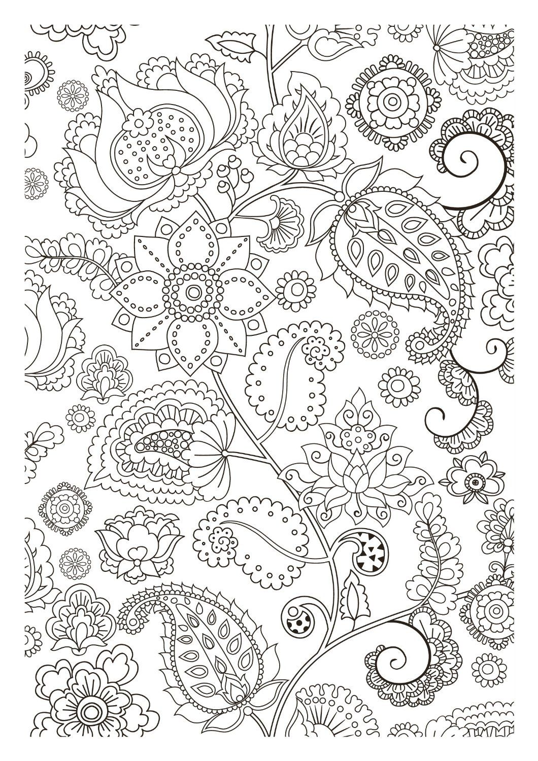 coloriages antistress colorir Pinterest Adult coloring