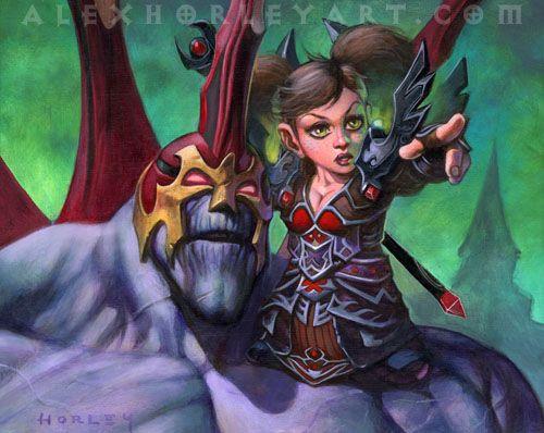 #wowtcg #warcraft #gnome #demoniste #warlock