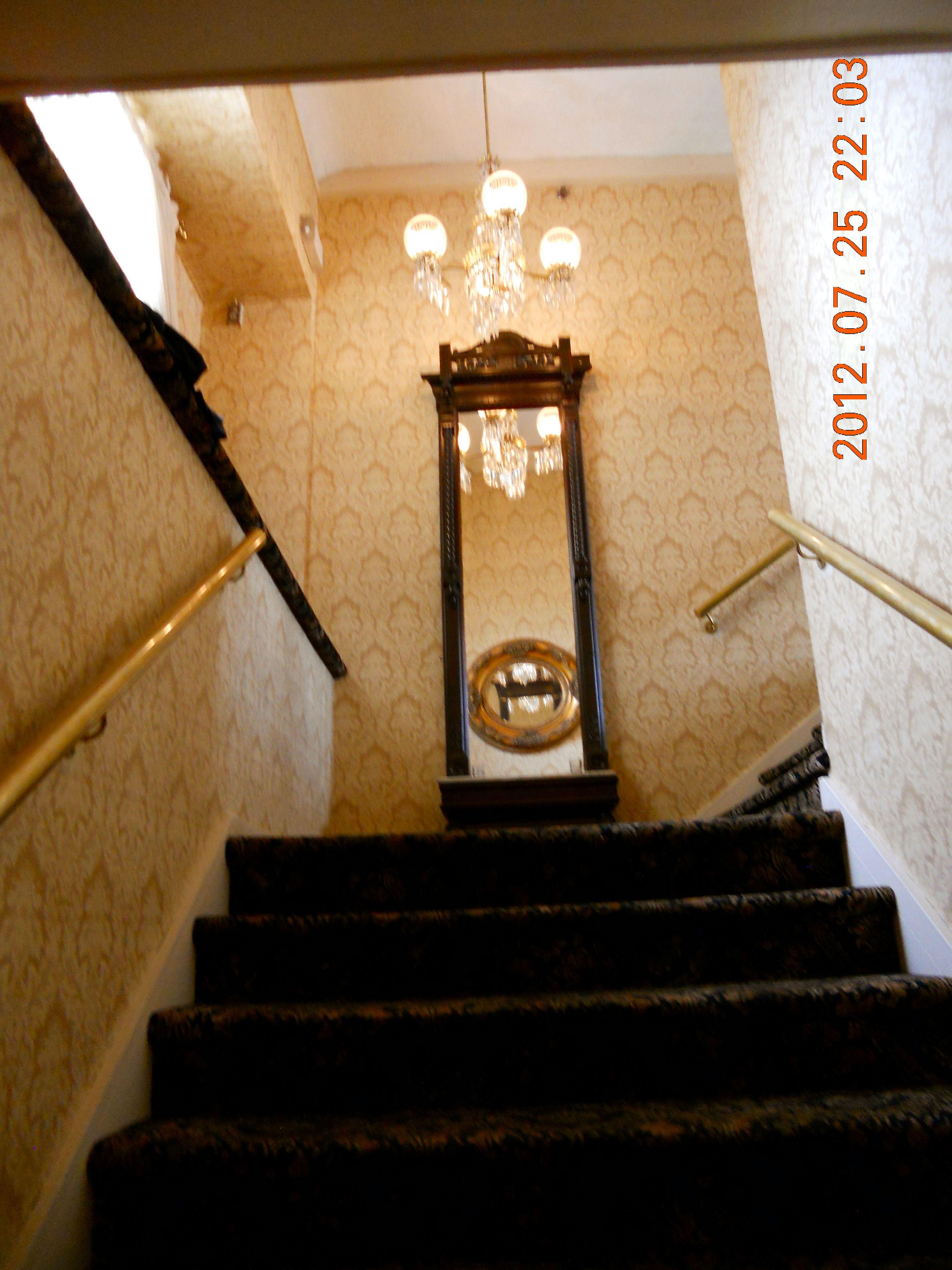Grand staircase interior lake mohawk country club lake mohawk