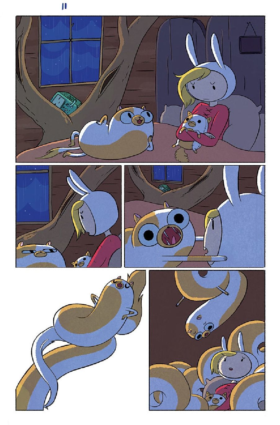"""Adventure Time: Fionna and Cake"" #1 [sample]"