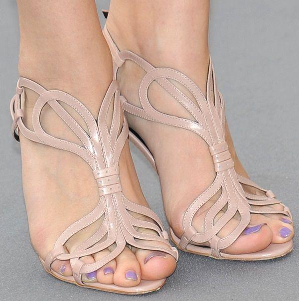 Chloe Moretz In Rupert Sanderson 'Figaro' Sandals