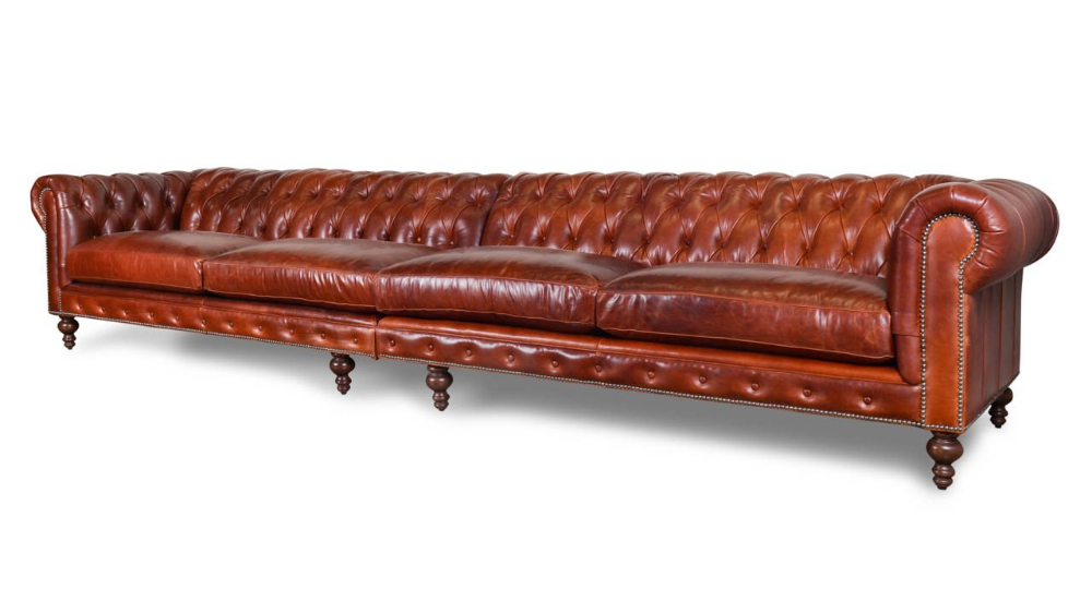 COCOCO Home | Classic Chesterfield Leather Sofa - Made in ...