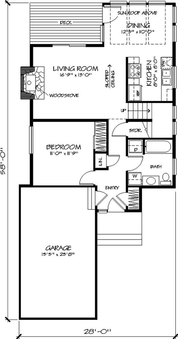Garage Apartment Floorplan Bates Renos Renovations