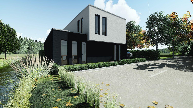 Ontwerp moderne villa in vlijmen aannemer hous luxe woningen