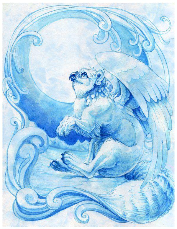 Blue Winter by hibbary.deviantart.com on @deviantART