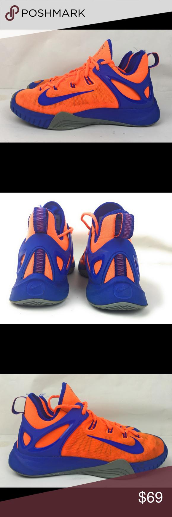 best sneakers 2ae41 68745 Nike Zoom HyperRev 2015 🍊 Blue Basketball Shoes Nike Zoom HyperRev 2015  Total Orange Dove Grey Men s Basketball Shoes 705370-840 Men s 8.5 US  Excellent ...