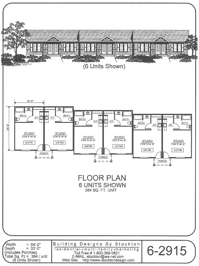 Building Designs By Stockton Plan 6 2915 Commercial Building Plans How To Plan Building Design