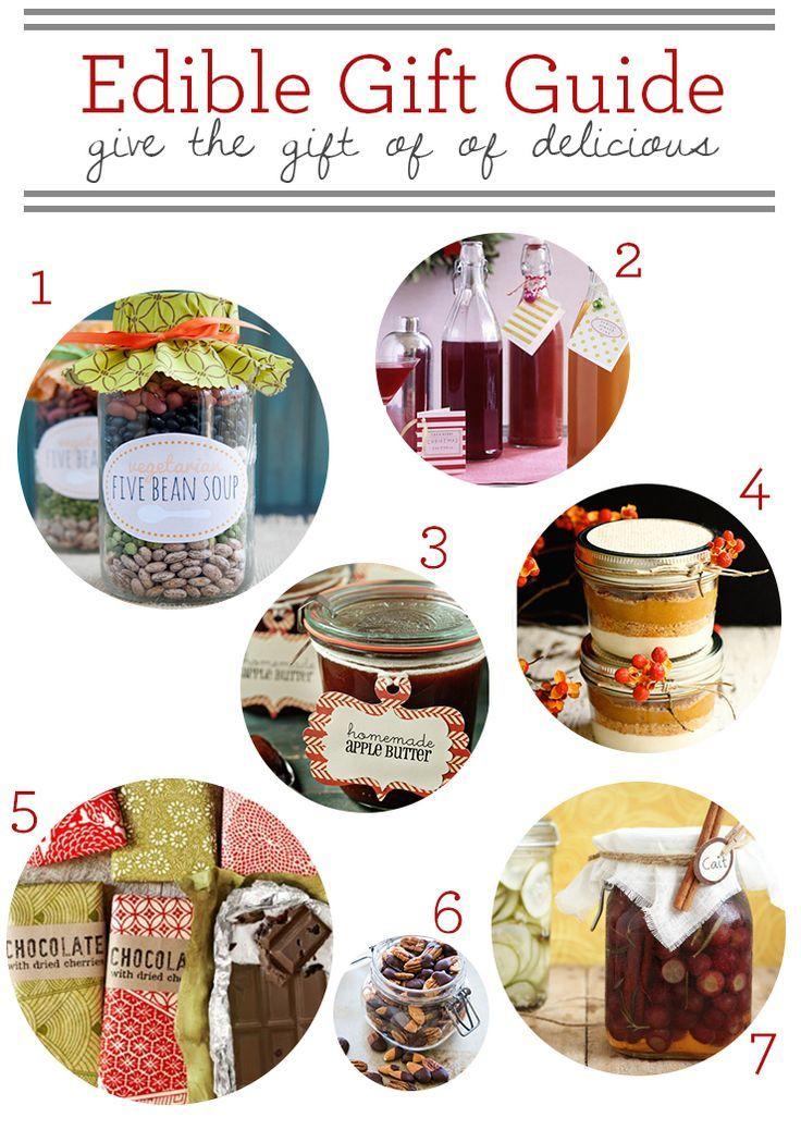 DIY Gifts & Wrap Ideas 2017 / 2018 2012 Edible DIY Gift Guide
