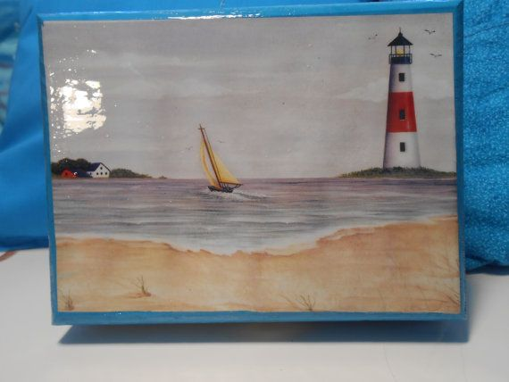 beach treasure box by tuttomare on Etsy, $10.00