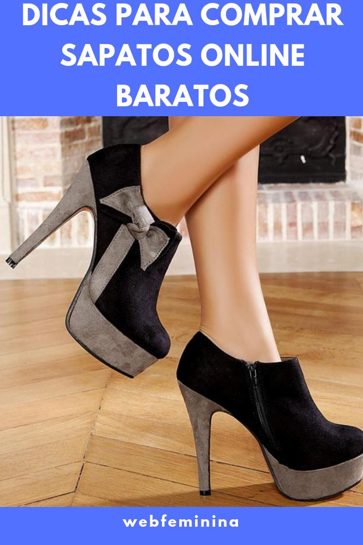 0ecc60b76 Dicas Para Comprar Sapatos Online Baratos