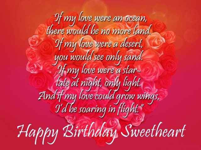 Romantic Birthday Wishes And Greetings Cards Images