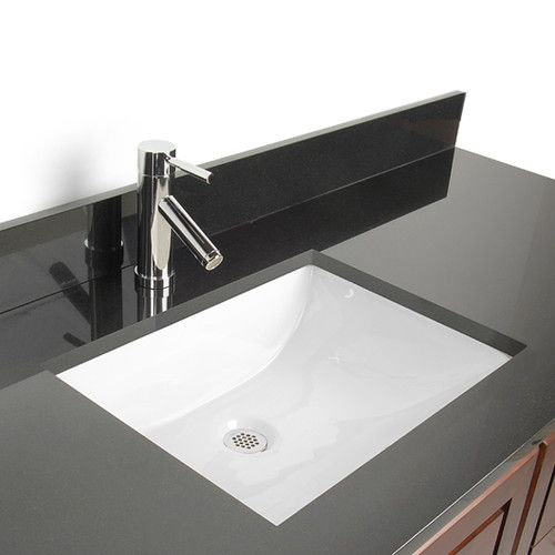 Found It At Allmodern Vitreous China Sinks Rectangular Undermount Sink Bathroom