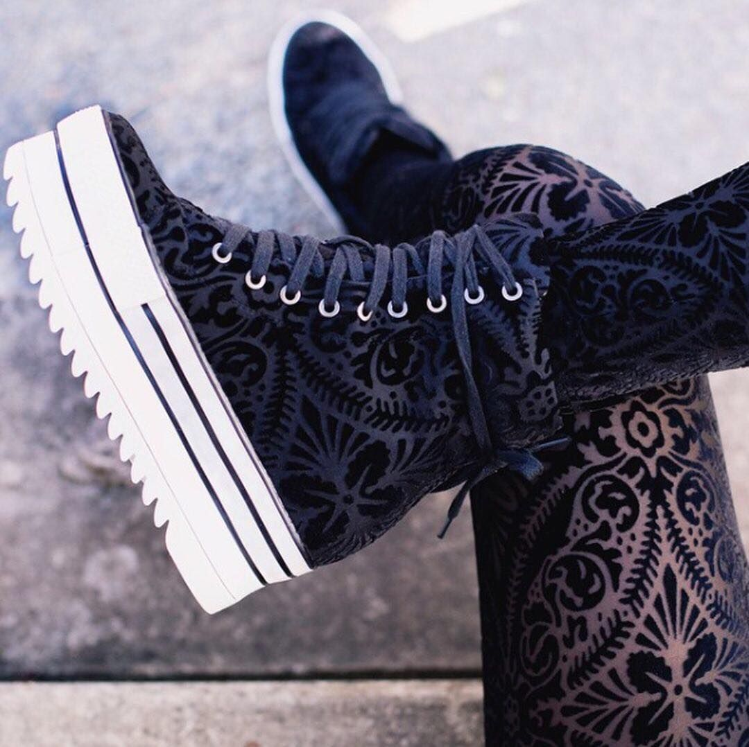 """7,128 Likes, 73 Comments - BlackMilk Clothing (@blackmilkclothing) on Instagram: """"All about that detail  There's nothing like a classic. Shop the Burned Velvet Legs in our bio!…"""""""