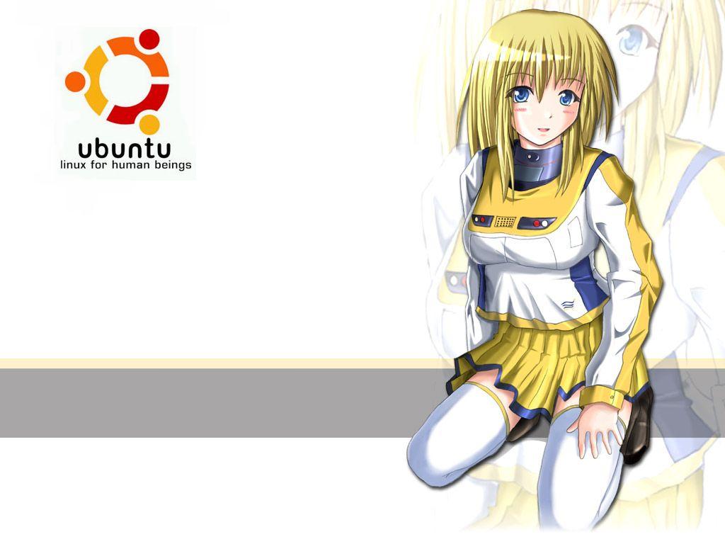 Ubuntu Anime Girl