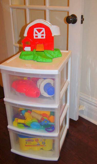 Making Montessori Ours  Our Playdough Storage Cart u0026 Favorite Sets!! & Making Montessori Ours