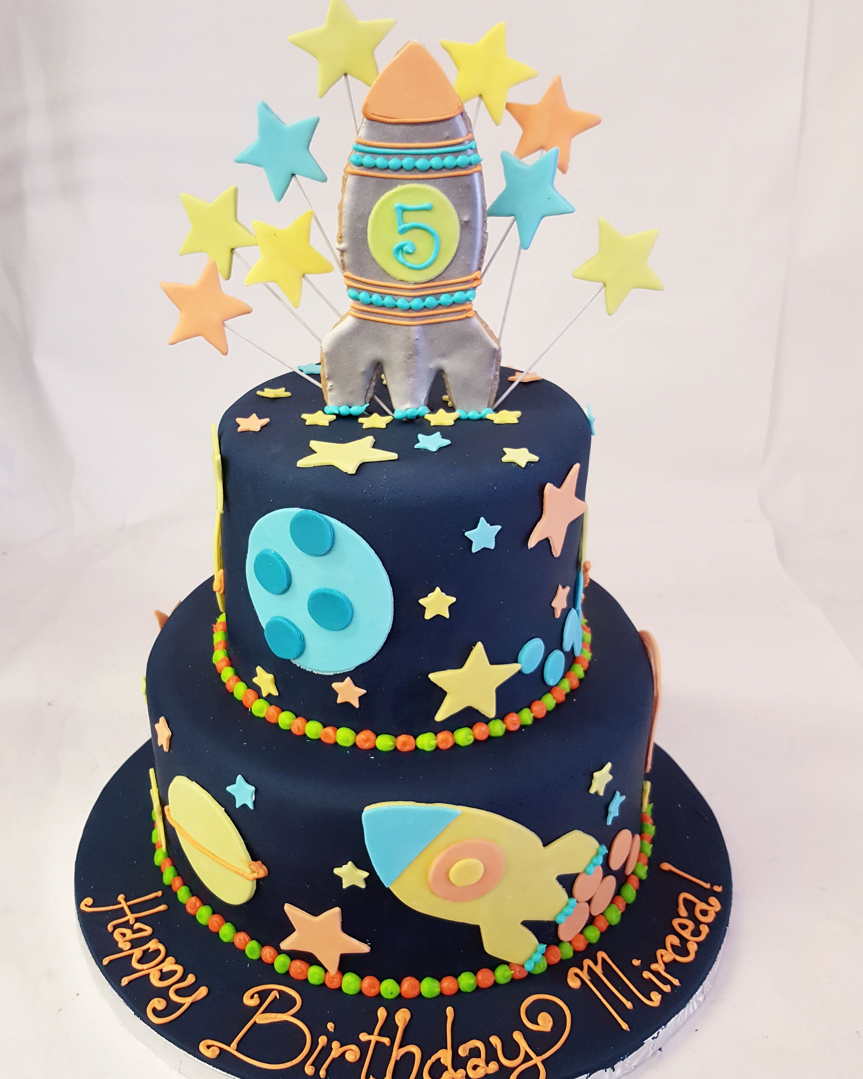 Swell Edible Space This Space Cake Is Out Of This World With Images Funny Birthday Cards Online Unhofree Goldxyz
