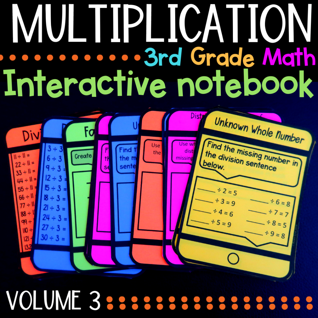 Multiplication And Division Centers For 3rd Grade