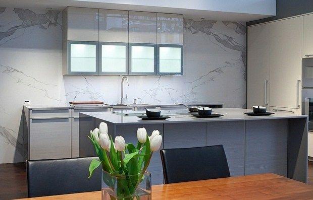 Eine langlebige und elegante Arbeitsplatte, die an Marmor erinnert - küchen mit granit arbeitsplatten