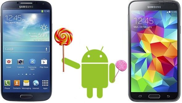 Samsung Galaxy S5, Note 4, S4: Lollipop Update Android 5 0