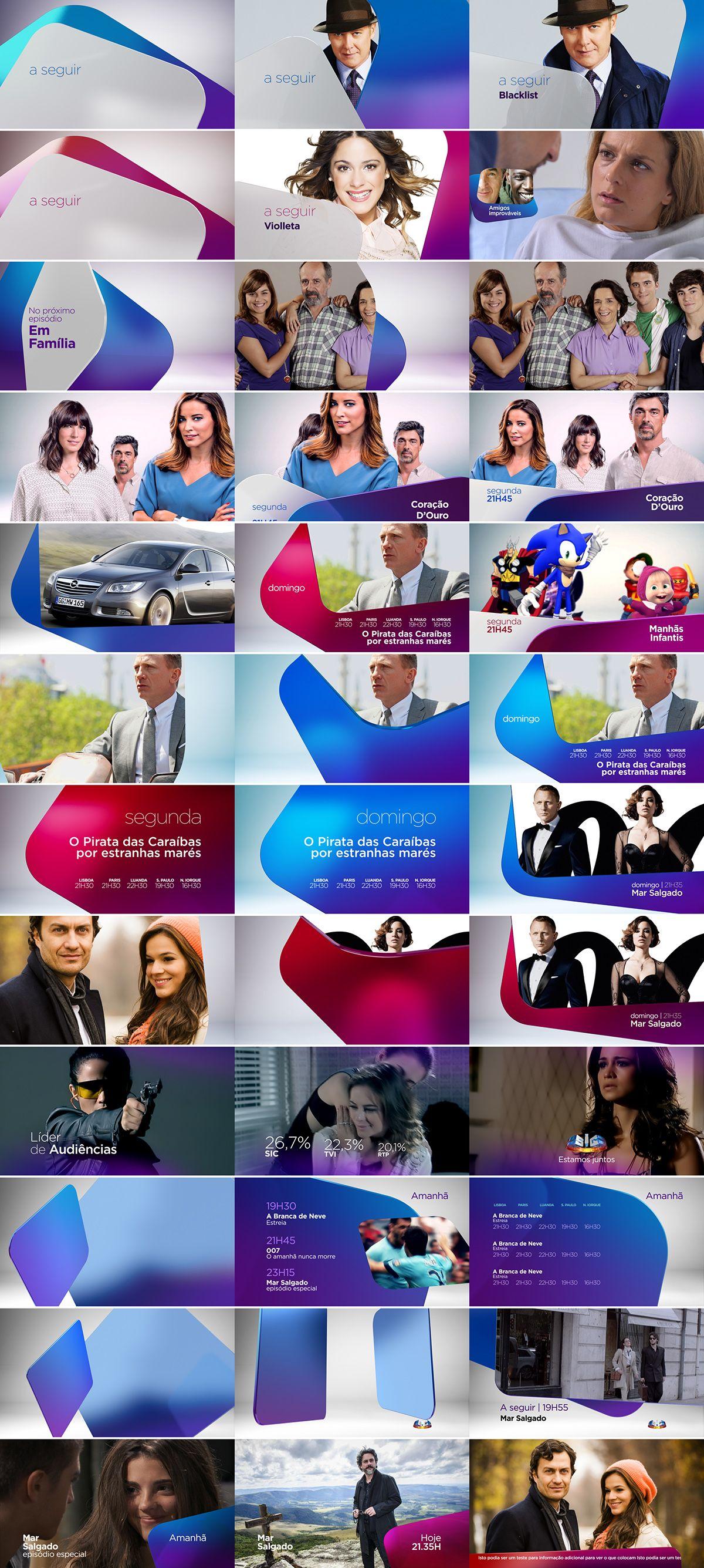 Rebrand Channel S I C Channel On Behance Diseno Grafico Logos