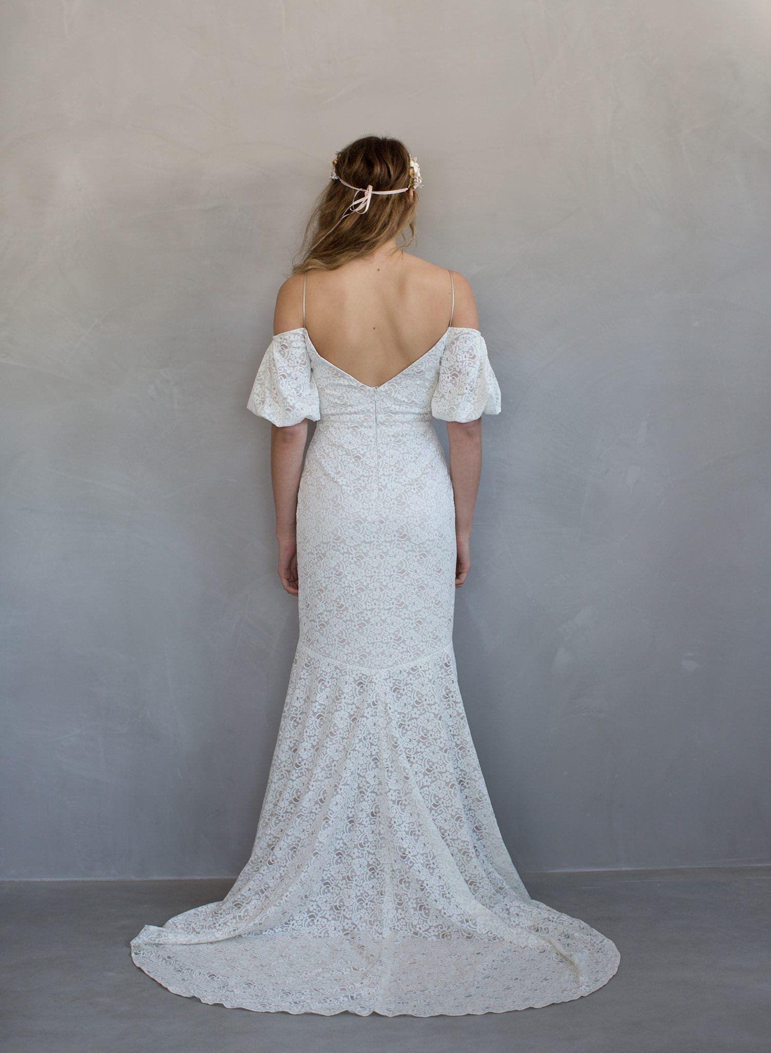 Soufflé - Poufy off-shoulder bridal gown - Style # TH703   Pinterest ...