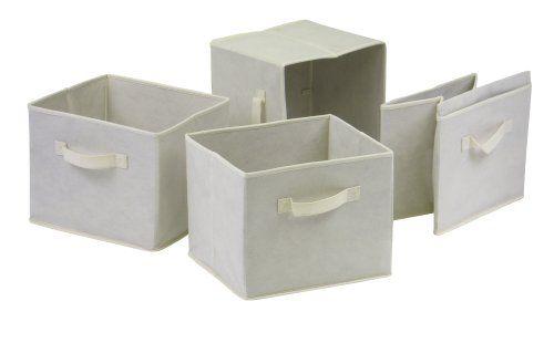 Winsome Capri Fabric Storage Baskets,... $19.13 #bestseller