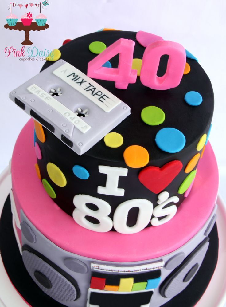 40th birthday cakes Google Search Cakes Cookies Pinterest