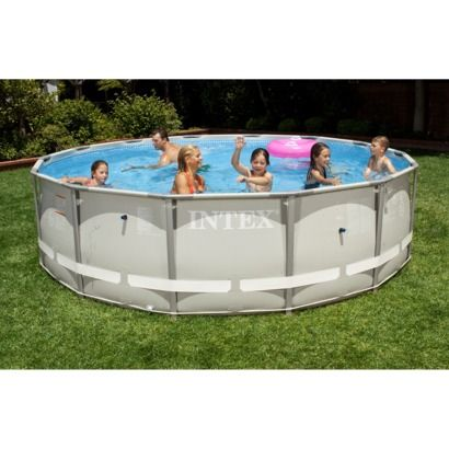 "Intex 14' x 42"" Ultra Frame Swimming Pool - Round"