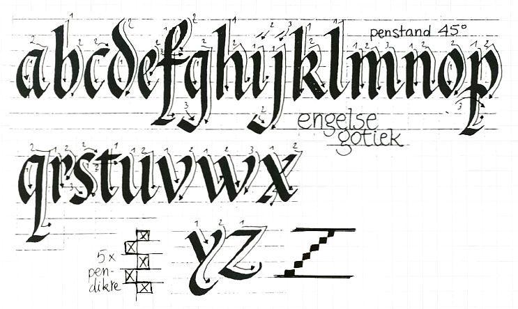 kalligrafie opdracht 2 pinterest kalligrafie