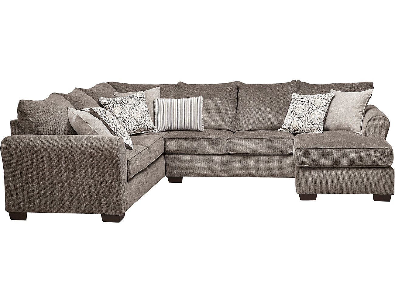 Best Harlow Ash 2 Piece Sleeper Sectional Outlet At Art Van 640 x 480