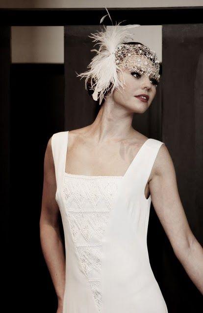 Mariages r tro robes de mari es style ann es 20 30 josephiiiine pinterest mariage retro - Style annee 20 ...
