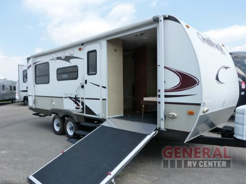 Used 2009 Keystone Rv Outback 230rs Toy Hauler Travel Trailer At