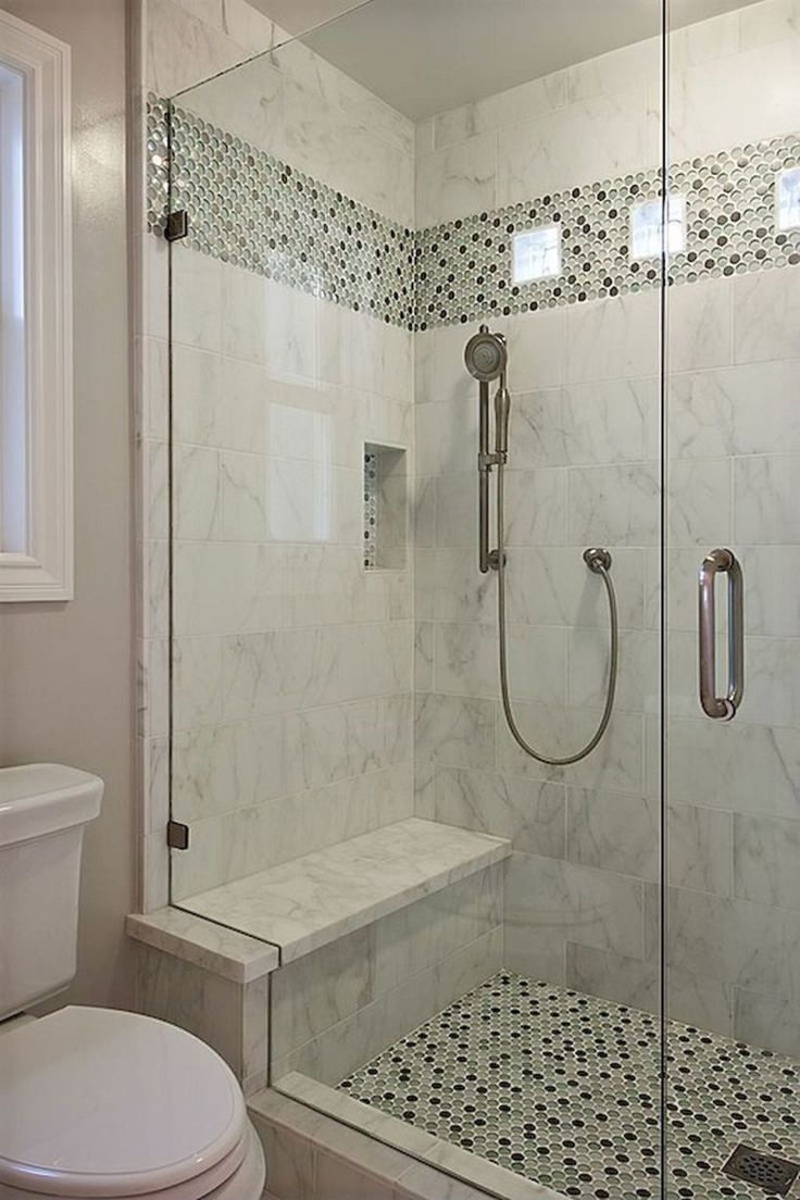 80 stunning tile shower designs ideas for bathroom remodel (18 ...