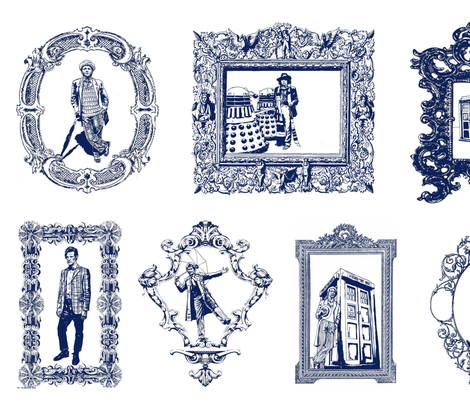 5 (Or Maybe 7) Awesome 'Doctor Who' Fabrics | Tardis blue, Blue ... : doctor who quilting fabric - Adamdwight.com